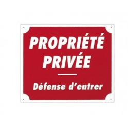 Propriété privée alu