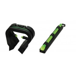 Guidon + fibre optique Hiviz